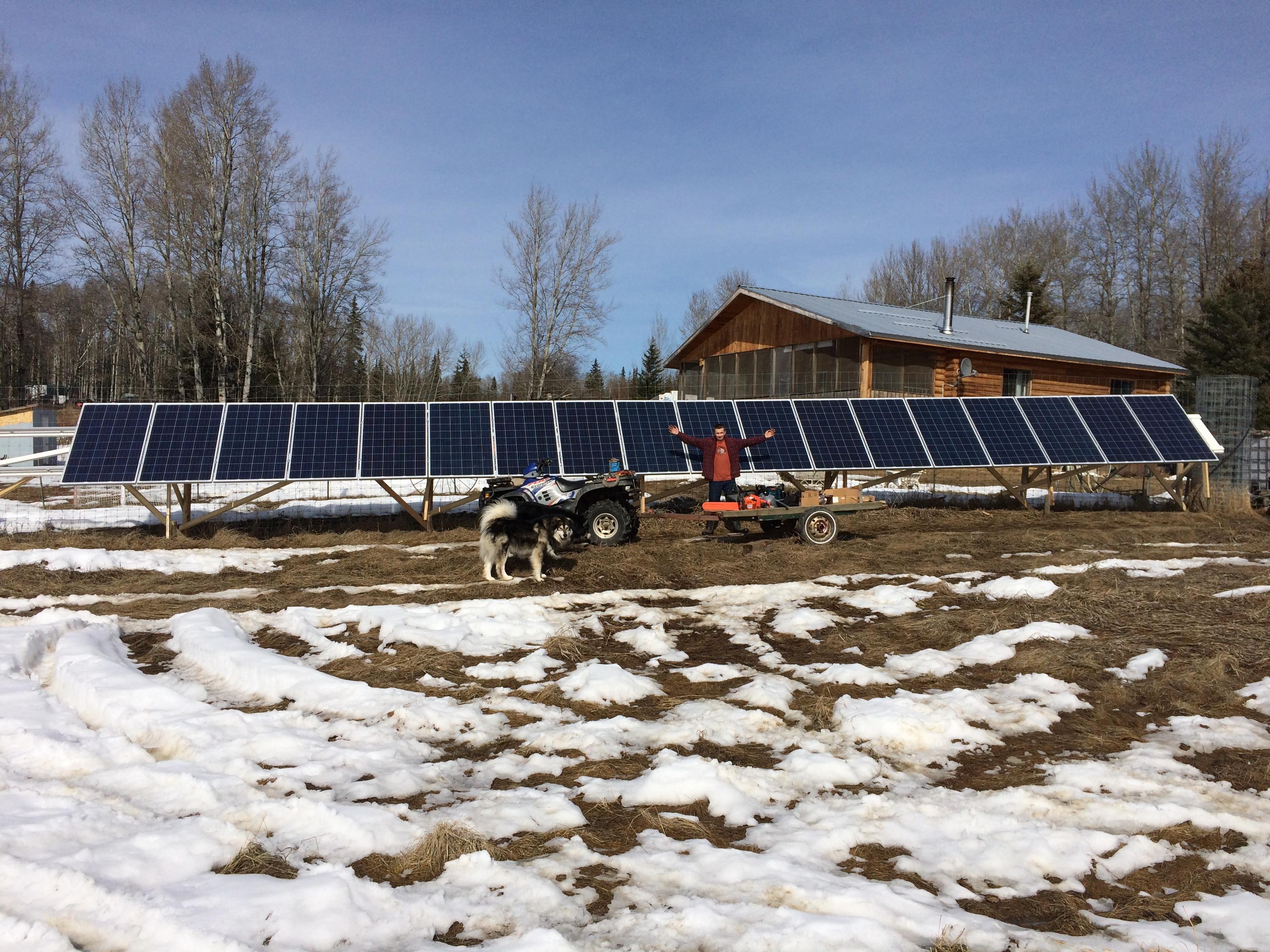 Solar at Blue Ridge Alberta