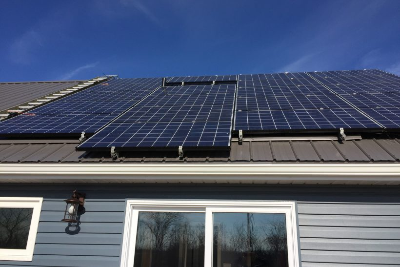 Solar mounts designed for roof