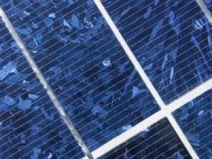 Closeup of a Solarwise Energy module