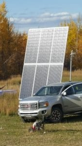 Living off grid means collecting your electricity from the sun with solar panel arrays
