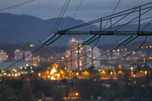 The power grid serving large urban areas