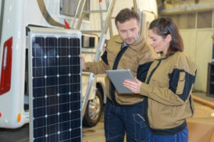 Solarwise Energy solar packages for their RV great options