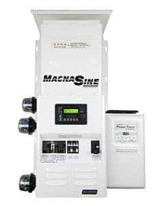 Magnum Power panel with charge controller
