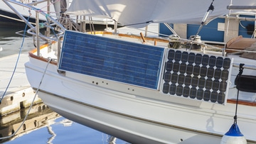 Solar power kits for sailing into remote location
