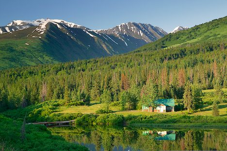 Back-country cabin solar packages