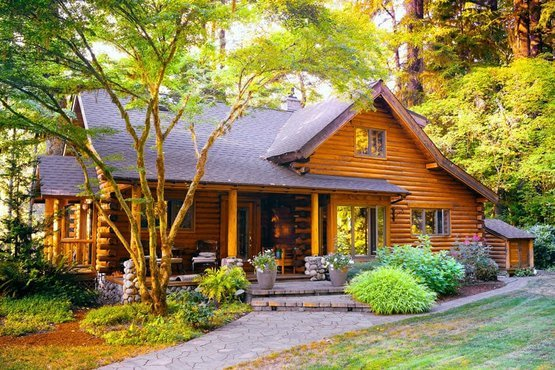 Luxury cottage cabin solar package